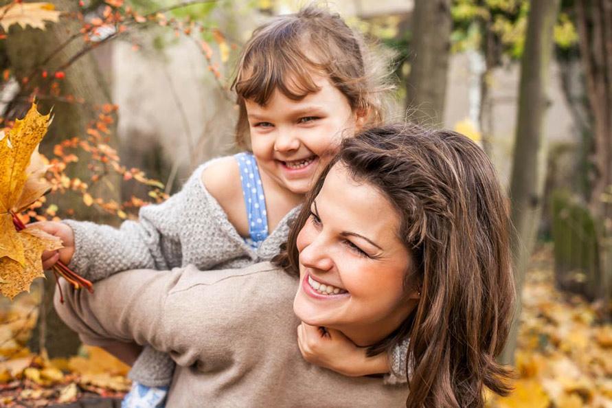Outdoor Fotografie Kinder im Herbst